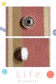 🚚 [11/28免運降售900]Pandora 白切割琉璃🍀新品🍀