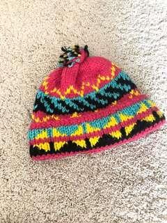 Beanie Bobble hat 彩色冷帽