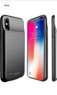 Proker Iphone X powerbank case
