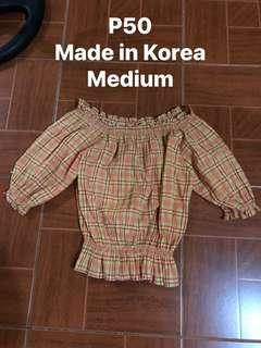 Made in Korea top