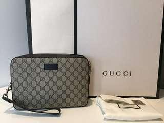 Excellent Gucci clutch sz 24 x 15 cm complete set no rec