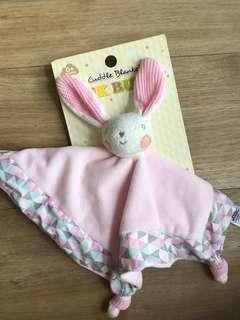 Cuddle blanket bunny