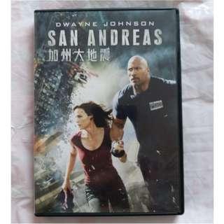 DVD 港版 加州大地震 SAN ANDREAS