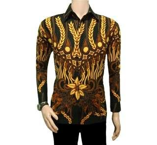 Kemeja batik motif jaman now