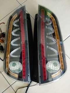 Lampu Belakang Myvi - Modified #tgv3