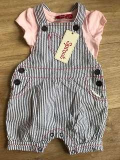 Sprout baby girl bodysuit