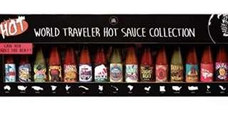 Worlds travelers hot sauce