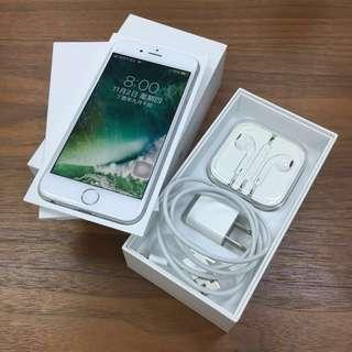 🚚 ⚡️限時優惠⚡️買清淨機送iphone!!! 🔆全配空機現貨 送手機套!iphone 6 128G(銀)