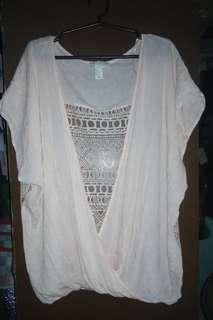 Forever 21 Chiffon topper