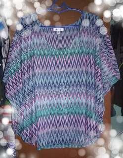 Jennifer Lopez layer blouse