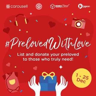 #PrelovedWithLove