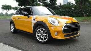 Mini Cooper F56 2014 Orange , warranty s.d 2019