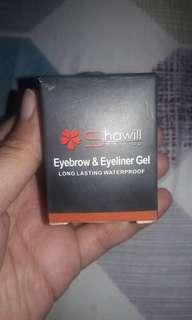 Shawill for brow lining and eyeshadow