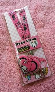 Hello Kitty My Melody Neck Strap / Lanyard (Original)