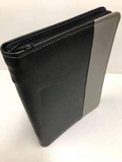 Grey & Black A5 zippier Portfolio/ Grey & Black A5 zipper folder-Self-Collection at Toa Payoh Workshop During office hours/ Separate Charge $5 for Qxpress Delivery {ONLY 1 pc}