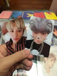 wtt / wts EXO dmumt chanyeol photocards