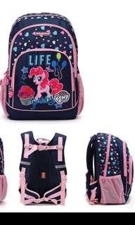 Brand new Authentic Dr Kong Little Pony School Bag M size