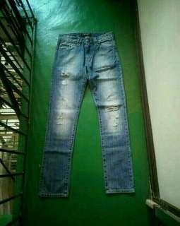 (FREE SF) PHILIPP PLEIN Straight Cut Jeans - Tapered (28)
