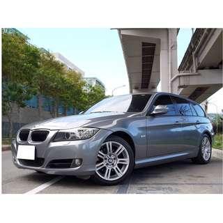 2009年 BMW 320I旅行車 全車原鈑件 已SAVE認證 里程保證 可全額貸款 低利率 強力過件 信用瑕疵 只需要3500即可以交車