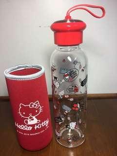 🚚 Hello Kitty 耐熱玻璃水瓶