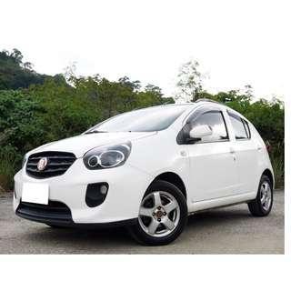 2012年 TOBE 熊貓車 全車原鈑件 里程只跑8萬公里 全額貸款 低利率 只需要3500設定費即可交車
