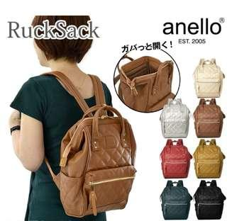 [Re-Stock] Japan Anello Synthetic PU Leather Backpack~ Original 100% Authentic ☆Large AH-B3001 ☆New Release Design