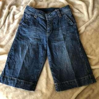 Denim Walking Shorts