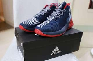 🏀現貨一對🏀NBA Adidas Derrick Rose 9 Basketball Sneakers 路斯第九代籃球鞋