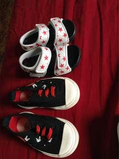 Baby boy shoes and sandals