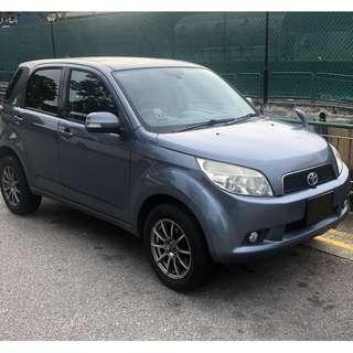Rental - Toyota Rush 1.5L