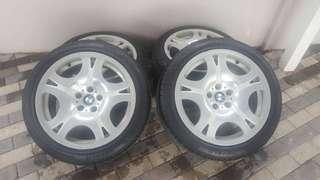 Sports rim/tayar BMW
