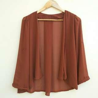 Drapped Outer Sifon Terracota