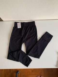 Black leggings for cooler temperatures