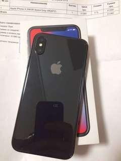 Apple iPhone X Smartphone 64GB Space Gray Bunga 0%