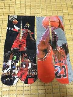 🚚 NBA 公牛 喬丹 Jordan MJ 騎士 詹姆斯 James LBJ 襪子