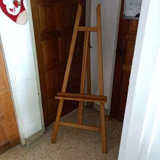 163cm wooden foldable art easel