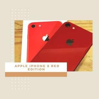 Promo Bunga 0% Apple iPhone 8 256GB Smartphone - Red Edition