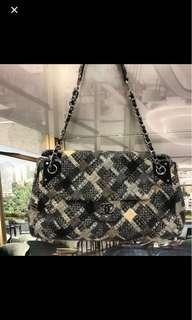 聖誕節減價禮物Chanel Wool Handbag