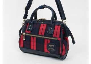 [Re-Stock] Japan Anello 2 Way Boston Sling Bag~ Original 100% Authentic ☆Small (Mini) AT-H1821 ☆New Release Design