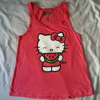 Hello Kitty Tank Top 🍉