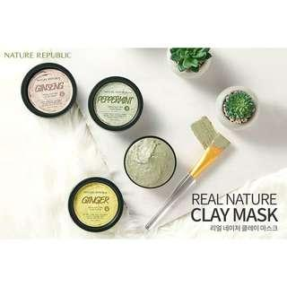 Nature Republic - Real Nature Clay Mask