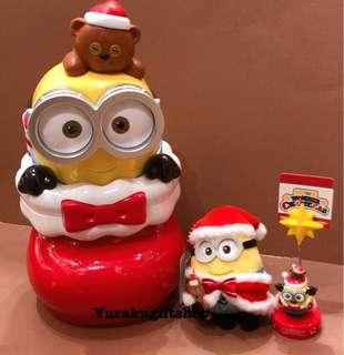 日本USJ 環球影城 聖誕 Bob TimTim 零食盒 Minions