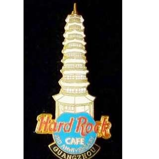 ROCK CAFE GUANGZHOU 3rd ANNIVERSARY PIN