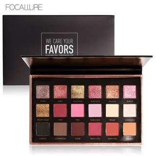 Focallure Eyeshadow Palet 18 colors