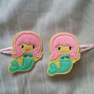 Mermaid Hair Clips