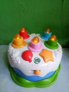 Preloved Leapfrog Learning Cake