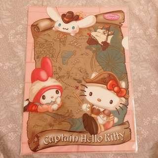 日本kitty樂園限定資料夾