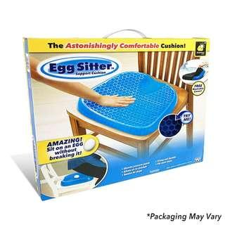 Egg Sitter Seat Cushion with Non-Slip Cover Breathable