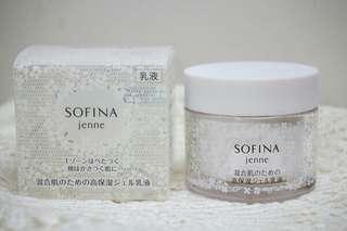 🚚 SOFINA透美顏混合肌適用的飽水控油雙效水凝乳液 (50g)