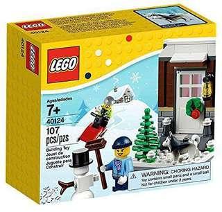 Lego 40124 Winter Fun